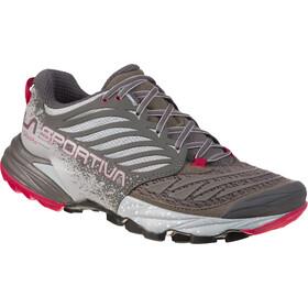La Sportiva Akasha Running Shoes Women Carbon/Beet